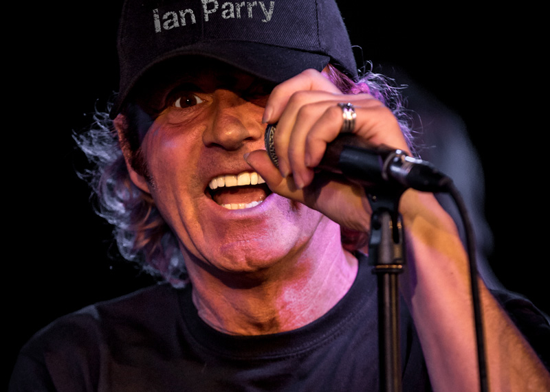 World Class Vocalist Mr. IAN PARRY